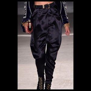 Limited Edition Balmain H&M Silk Satin Suit Pants